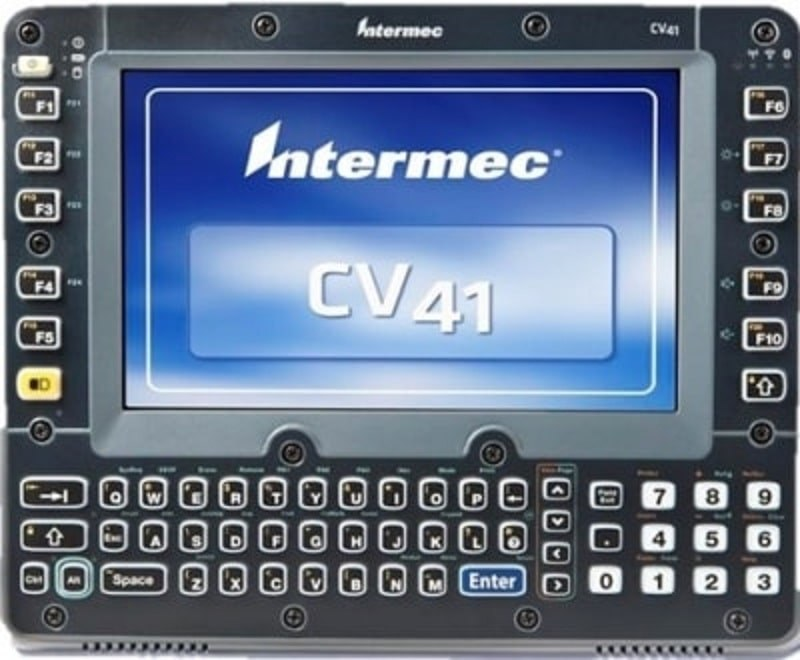 large honeywell cv41 vehicle pc